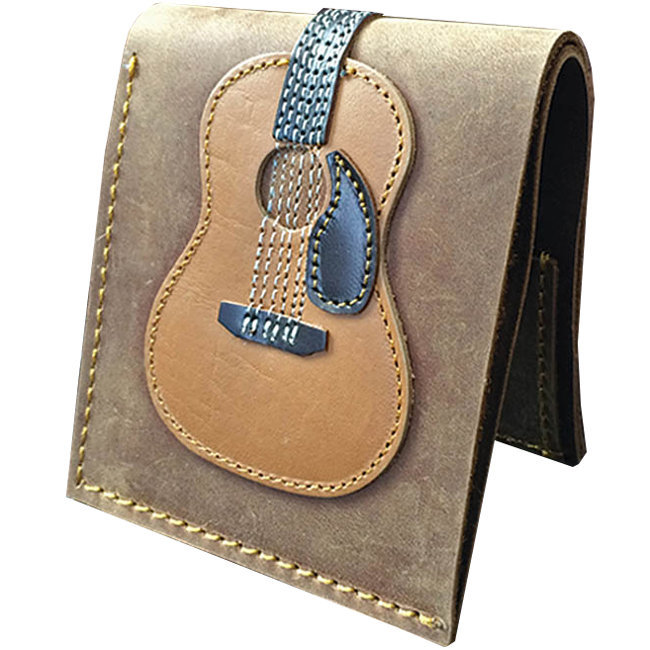 View larger image of Axe Heaven Dreadnought Acoustic Guitar Leather Wallet