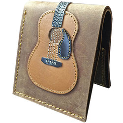 Axe Heaven Dreadnought Acoustic Guitar Leather Wallet