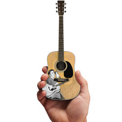 Axe Heaven Elvis Presley Signature '55 Tribute Minature Acoustic Guitar Replica