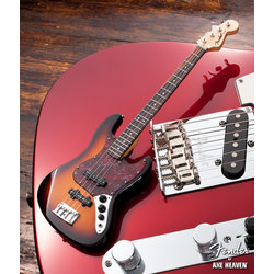 Axe Heaven FJ-002 Officially Licensed Miniature Fender Jazz Bass Guitar Replica Collectible - Sunburst