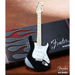 Axe Heaven FS-002 Officially Licensed Miniature Fender Strat Guitar Replica Collectible - Classic Black