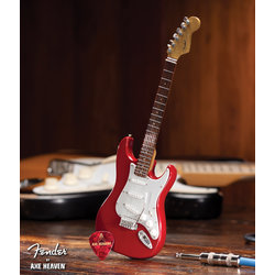 Axe Heaven FS-006 Officially Licensed Miniature Fender Strat Guitar Replica Collectible - Classic Red