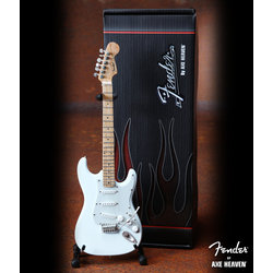 Axe Heaven FS-008 Officially Licensed Miniature Fender Strat Guitar Replica Collectible - Olympic White