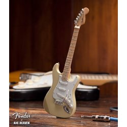 Axe Heaven FS-013 Officially Licensed Miniature Fender Strat Guitar Replica Collectible - Classic Cream