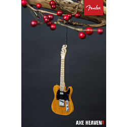"Axe Heaven FT-70041 6"" FENDER 50s Blonde Telecaster Guitar Holiday Ornament"