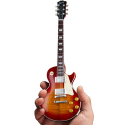 Axe Heaven Gibson '59 Les Paul Standard Minature Guitar Replica - Cherry Sunburst