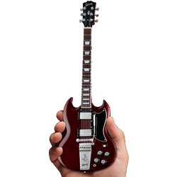 Axe Heaven Gibson '64 SG Standard Minature Guitar Replica - Cherry