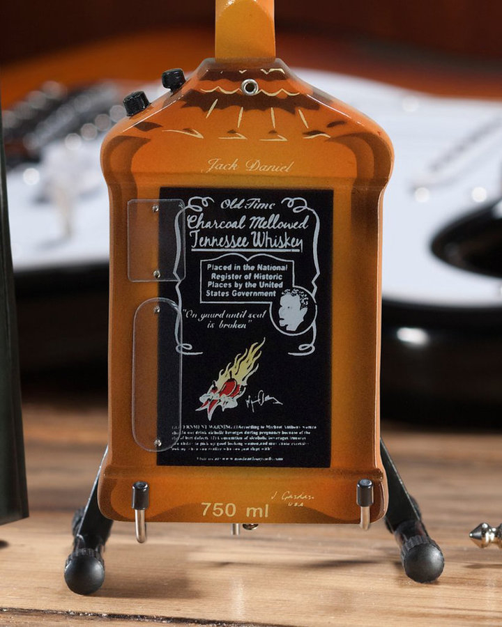 View larger image of Axe Heaven Jack Daniel's Bass Ornament
