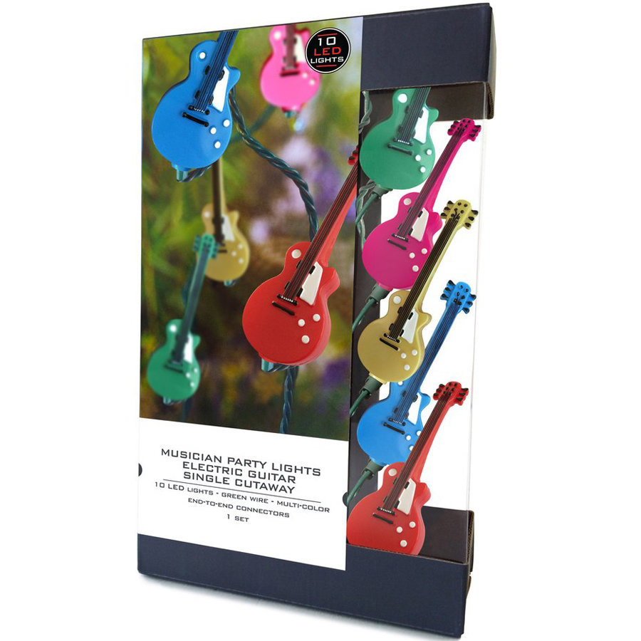 View larger image of Axe Heaven Single Cutaway Electric Guitar Party Lights