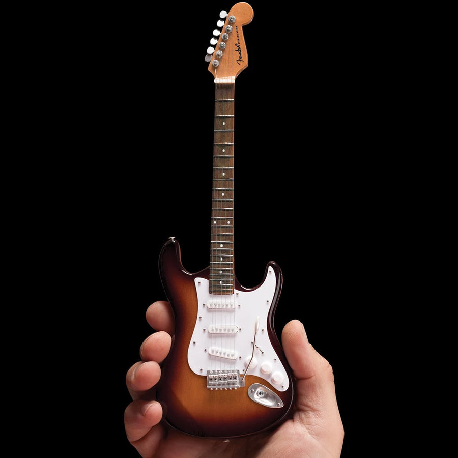 View larger image of Axe Heaven Sunburst Fender Strat Classic Miniature Guitar Replica