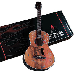 Axe Heaven Willie Nelson Signature Trigger Minature Acoustic Guitar Replica