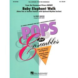 Baby Elephant Walk - Flute Trio/ Section Feature w/Opt Rhythm Sect