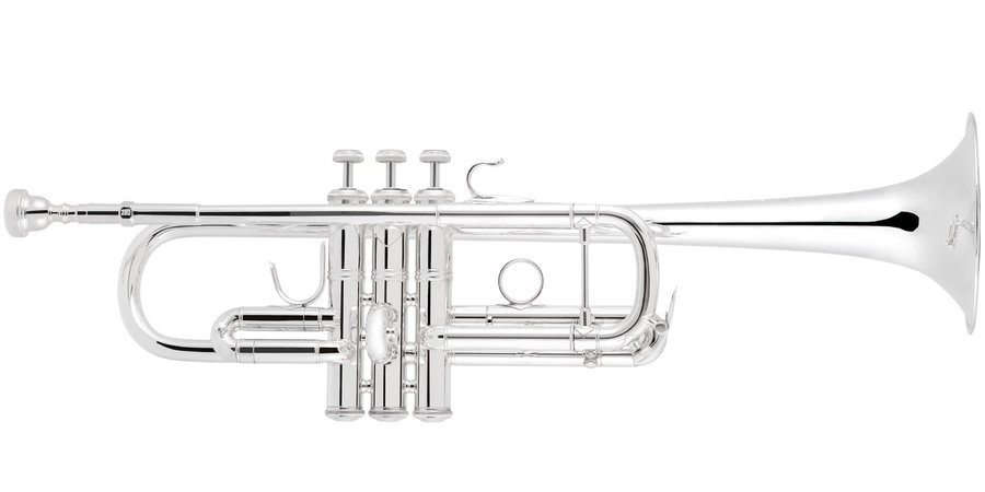 View larger image of Bach 190 Series C Trumpet - Silver