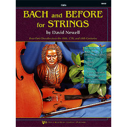 Bach and Before for Strings - Cello