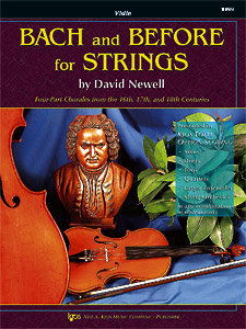View larger image of Bach and Before for Strings - Violin