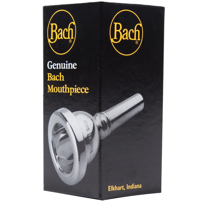 View larger image of Bach Bass Trombone Mouthpiece - 1G, Large Shank