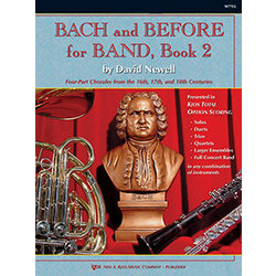 Bach & Before for Band Book 2 - Score