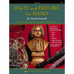 Bach & Before for Band - Conductor