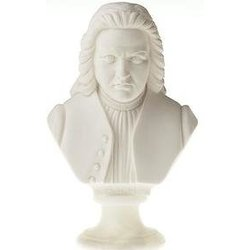 Bach Bust - Small, 4-1/2
