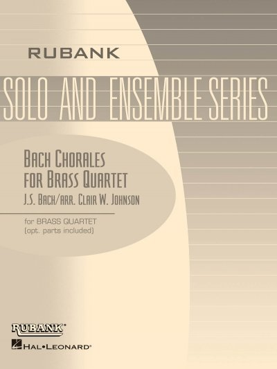 View larger image of Bach Chorales for Brass Quartet