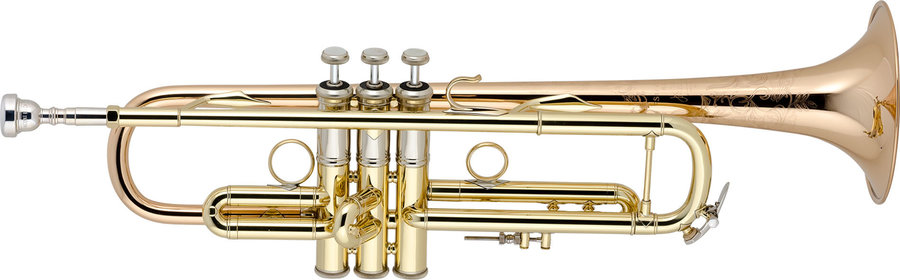 View larger image of Bach LR19043B Professional Bb Trumpet - Lacquer