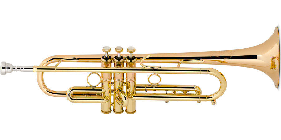 View larger image of Bach LT190L1B Stradivarius Commercial Series Bb Trumpet
