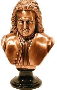View larger image of Bach Sculpture - Bronze, Large
