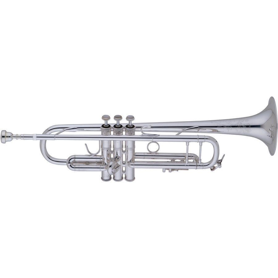View larger image of Bach Stradivarius 190 Series Bb Trumpet - Silver