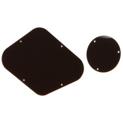 Backplates for Gibson Les Paul - Brown