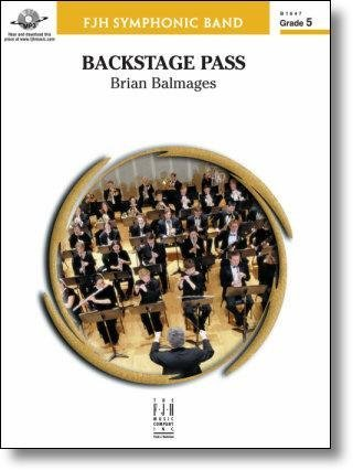 View larger image of Backstage Pass - Score & Parts, Grade 5