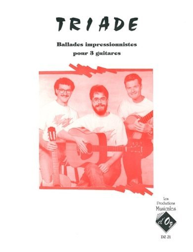 View larger image of Ballades Impressionnistes (Triade) - Guitar Trio