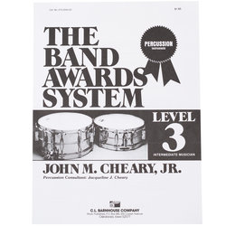 Band Awards System Percussion Manual - Level 3