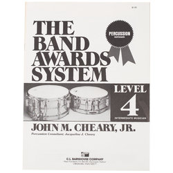 Band Awards System Percussion Manual - Level 4