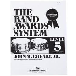 Band Awards System Percussion Manual - Level 5