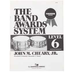 Band Awards System Percussion Manual - Level 6
