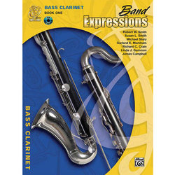 Band Expressions Book 1 with CD - Bass Clarinet