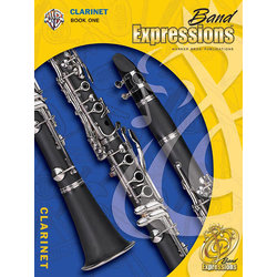Band Expressions Book 1 with CD - Clarinet