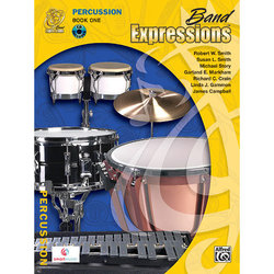 Band Expressions Book 1 with CD - Percussion