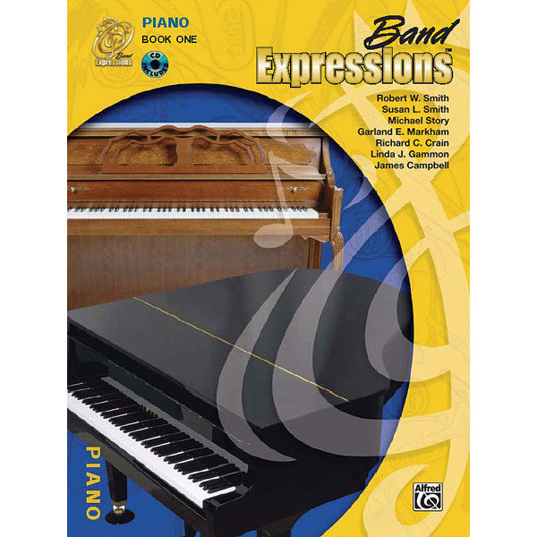 View larger image of Band Expressions Book 1 with CD - Piano