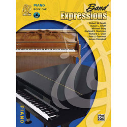 Band Expressions Book 1 with CD - Piano