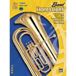 Band Expressions Book 1 with CD - Tuba