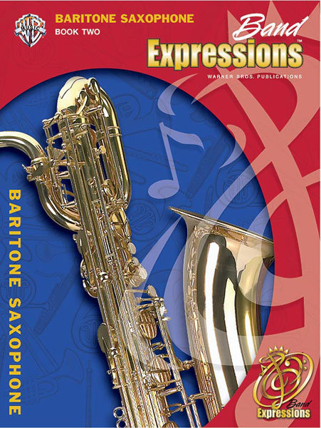 View larger image of Band Expressions Book 2 - Bari Sax w/CD