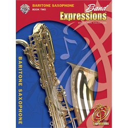 Band Expressions Book 2 - Bari Sax w/CD