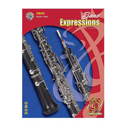 Band Expressions Book 2 - Oboe w/CD