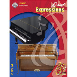 Band Expressions Book 2 - Piano w/CD