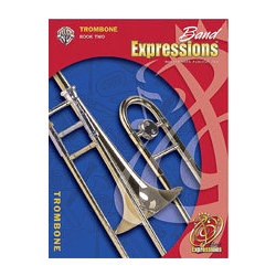 Band Expressions Book 2 - Trombone w/CD
