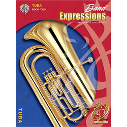 Band Expressions Book 2 - Tuba w/CD