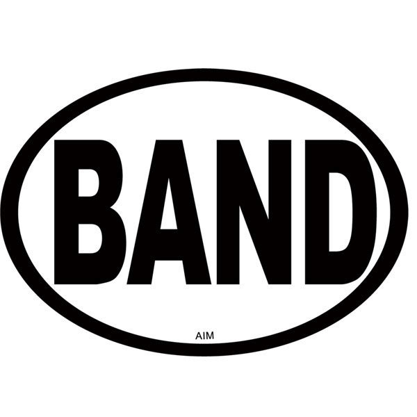 View larger image of Band Oval Magnet