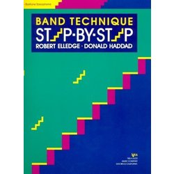 Band Technique Step By Step - Bari Sax