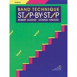 Band Technique Step By Step - Clarinet